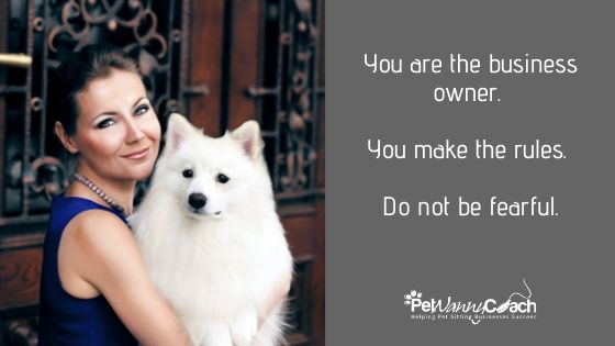 setting up a pet sitting business