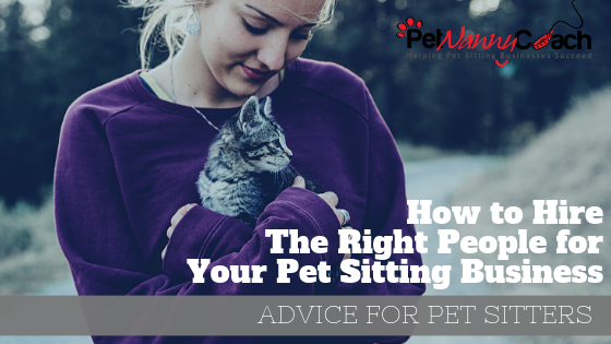 pet sitting business