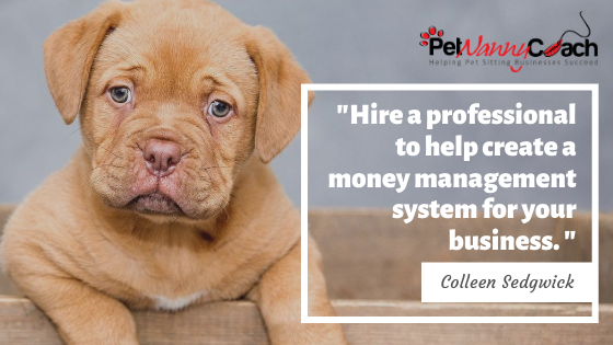 2 Ways to Manage Your Money in Your Pet Sitting Business