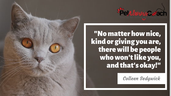 QUOTE - How to Overcome Fearfulness in your Pet Sitting Business