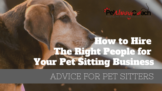 How to Hire the Right People for Your Pet Sitting Business